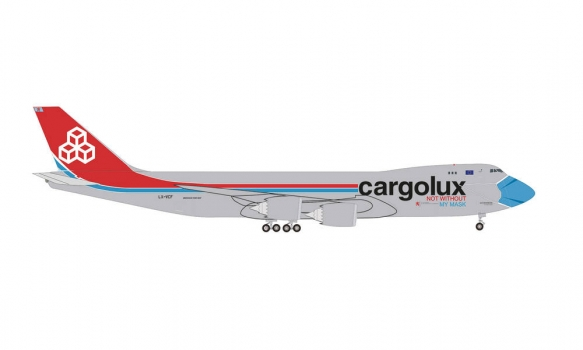 Herpa - Cargolux Boeing 747-8F