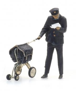 Artitec - Briefträger und Wagen (H0)