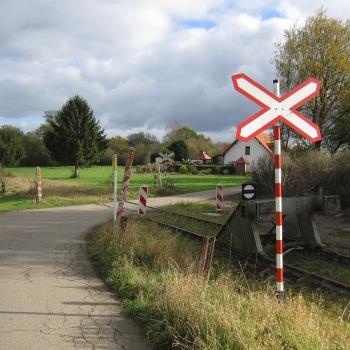 luxemburgisches Andreaskreuz - Bausatz (H0)