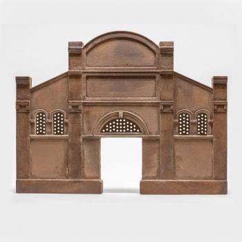 Fassade - Relief Industriehalle Bausatz (H0)
