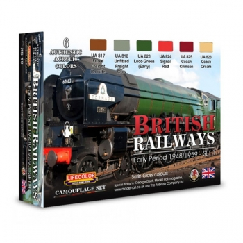 Lifecolor British Railways - Set