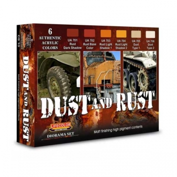 Lifecolor Dust and Rust - Set