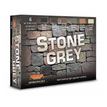 Lifecolor Stone Grey - Set