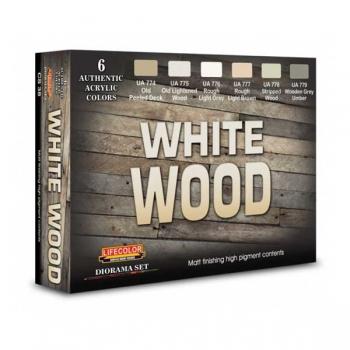 Lifecolor White Wood - Set