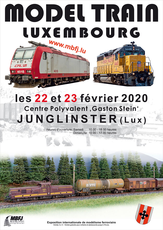 Model Train Expo in Junglinster 2020
